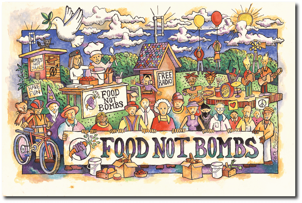 Food Not Bombs with co-founder Keith McHenry – Part II